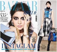 Yay or Nay : Anushka Sharma in Dior on the cover of Harper's Bazaar Bride