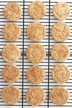 Perfect cookie for the holiday season (or any season!), these chewy gingerdoodle cookies are filled with sugar and spice and they taste oh so nice! It's cookie season! It's baking Brownie Cookies, Yummy Cookies, Cookie Recipes, Dessert Recipes, Dessert Food, Perfect Cookie, Sugar And Spice, Sweet Tooth, Deserts
