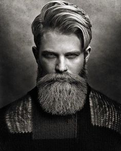 "Distinct face shapes call for different beard styles. These rules will help you achieve what we like to call ""optimal beard. Great Beards, Awesome Beards, Beard Styles For Men, Hair And Beard Styles, Modern Beard Styles, Bart Styles, Long Beards, Beard Lover, Beard Grooming"