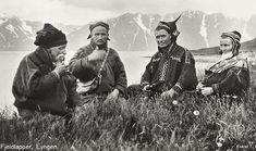 Mountain Saami group in Lyngen Norway. 1928