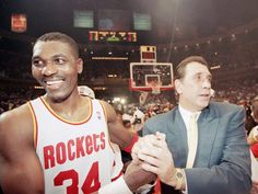 June 22, 1994 - Led by Hakeem Olajuwon's 25 points, 10 rebounds and seven assists, Houston defeated New York 90-84 in Game 7 of the NBA Finals at The Summit, giving the Rockets their first NBA championship in the 27-year history of the franchise. Olajuwon averaged 26.9 points, 9.1 rebounds and 3.86 blocks for the series and was unanimously voted the Finals MVP, the first player to ever win the Defensive Player of the Year and both the regular season and Finals MVP awards in the same season.