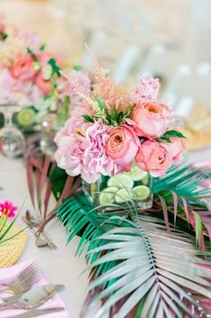 Oh the details in this Tropical Flamingo Paradise Party! Kara's Party Ideas has tons of gorg pics and inspiration here. Come inside! Flamingo Baby Shower, Flamingo Birthday, Flamingo Party, Luau Decorations, 21st Birthday Decorations, Birthday Party Themes, Birthday Ideas, Flamingo Decor, Baby Girl Christening