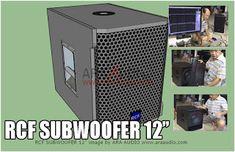 Skema Box Subwoofer 12 Model RCF Mantap