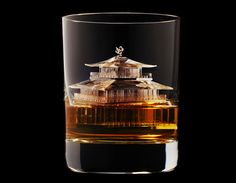Creative CNC-Milled Ice Cubes by Suntory