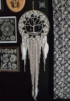Crystal Tree of Life Dream Catcher