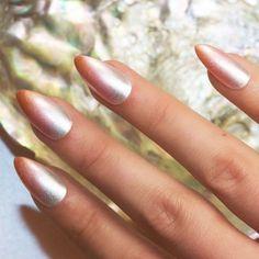 Soft ombré mani - #nails #stiletto #stilettonails #nail