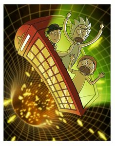 Inspector spacetime and rick and morty