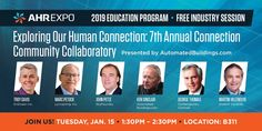Leading Industry Experts Join Ken Sinclair's Connection Community Collaboratory at 2019 AHR EXPO Human Connection, Dawn, February, Industrial, Community, Education, Teaching, Onderwijs, Communion