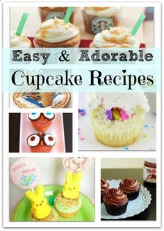 Adorable and Easy Cupcake Recipes - Princess Pinky Girl - Princess Pinky Girl // Powered by chlodigital