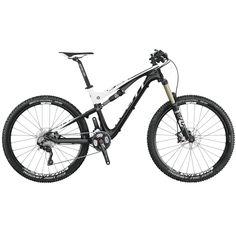 SCOTT Sports - SCOTT Genius 720 Bike. Mi bicicleta de montaña actual y ya mi tercera Scott, año 2015. Cuadro de carbono y basculante de aluminio, 150 mm de recorrido en modo All travell, 100 en modo tracción y bloqueo total.