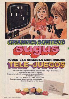 Sorteo caramelos Sugus, finales años 70