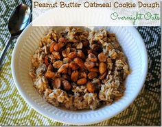 Peanut Butter Oatmeal Cookie Dough Overnight Oats