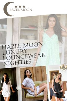 Hazel Moon is a brand built on the values of friendship, lounging, and love. We use natural fibers for our luxury loungewear as well as evironmentaly responsibly manufaturing and fairly traded practices. #HazelMoon  #LuxuryLoungewear Comfy Fall Outfits, Spring Outfits, Winter Outfits, Cute Sleepwear, Loungewear, Womens Nighties, Comfy Dresses, Night Gown, Friendship