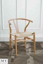 My-Furniture Replica Hans Wegner Wishbone Chair - Beech