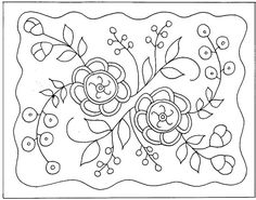 Embroidery Pattern from Free Punch Needle Patterns - Bing Images. jwt