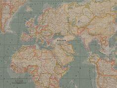 World Map 280 cm wide, £38 per metre