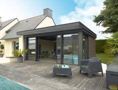 extension d 39 une maison sur jardin plouguerneau 29 vieilles maisons vieux et objet. Black Bedroom Furniture Sets. Home Design Ideas