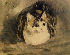 Gwen John - The Cat