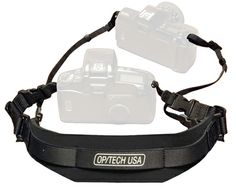 The Reporter Strap addresses the needs of today's active photographers who use two cameras to cover the diverse photo challenges presented in their work. Now two cameras or a camera/binocular combination can be comfortably worn with only one strap. Photo Accessories, Accessories Store, My Gems, Photo Bag, Camcorder, Binoculars, Ebay, Tech, Black