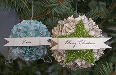 wRIte iT DOwN: Day 10 of Handmade Ornaments