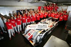 WEC - Audi Sport Team Joest is official 2013 Driver's and Manufacturers' World Champion - OZ celebrates the team and we're proud to be official supplier of them with OZ Racing wheels! Goooo! #OZRACING