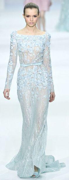 48 Romantic Pastel Wedding Gowns   HappyWedd.com