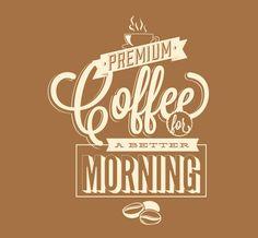 Premium Coffee | Home Decals