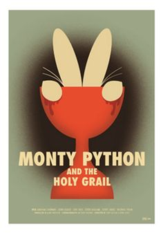 Monty Python and the Holy Grail - 100 GREATEST FAN POSTERS