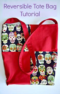 Reversible Tote Bag Tutorial