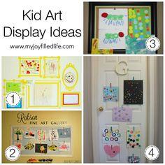 Kid Art Display Ideas1