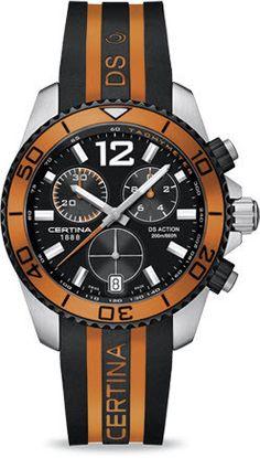7d99a84d1ab Certina Watch DS Action Chrono Quartz C013.417.27.057.01 Watch