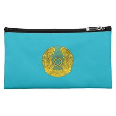 Kazakh coat of arms cosmetics bags