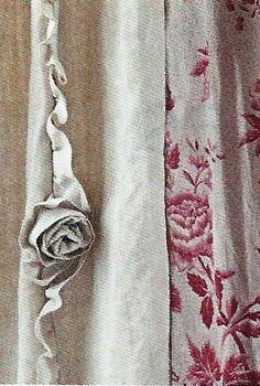 Beautiful curtain detail ~ Love <3<3