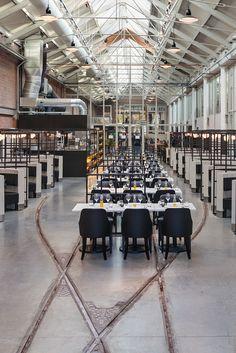 Meat West - industrial restaurant Amsterdam Framework Architects