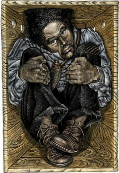 "Henry ""Box"" Brown (c.1815–after 1889) was a 19th century Virginia slave, and later a noted abolitionist speaker, who escaped to freedom by arranging to have himself mailed to Philadelphia abolitionists in a wooden crate. [cite]  : A Celebration of African American History Month"