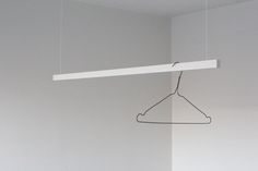 Swedish design student Erik Hellstrom of NFNSSFS recently introduced me to his latest project, Hanger A – a minimal and efficient clothes hanger.