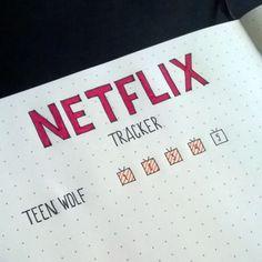 Tracker for Netflix series'! #bulletjournal #planner #organizer #bujocommunity…