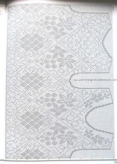 Fabulous Crochet a Little Black Crochet Dress Ideas. Georgeous Crochet a Little Black Crochet Dress Ideas. Thread Crochet, Knit Or Crochet, Crochet Motif, Crochet Designs, Crochet Stitches, Crochet Patterns, Diy Crafts Crochet, Filet Crochet Charts, Fillet Crochet