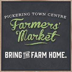 Pickering Town Centre - Important Update - NOW CALLED THE CITY CENTRE FARMER'S MARKET.