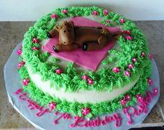 horse cake!