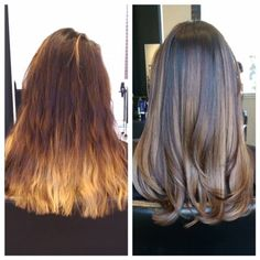 COLOR CORRECTION: Perfect Brown Dimensional Sombre - Career - Modern Salon