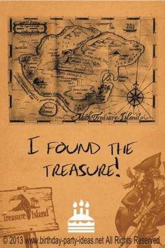 Treasure Hunt birthd
