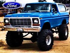 79 Ford Truck, Old Pickup Trucks, Lifted Ford Trucks, Old Bronco, Bronco Truck, Cool Trucks, Big Trucks, Classic Ford Trucks, Old Fords