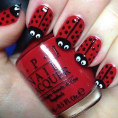Ladybugs..too cute.
