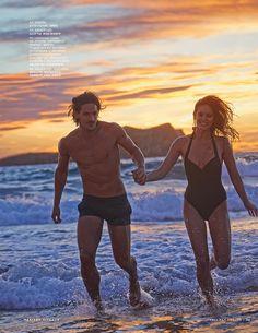 Fashiontography: Emily DiDonato & Jarrod Scott by Mariano Vivanco