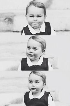 Official christmas photographs of Prince George.
