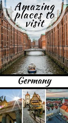 Amazing places to visit in Germany. The whole country is gorgeous and we can't say enough good things about  how unique your visit to Germany can be. Between the landscapes, colors,  brew houses, beer and brat culture and history you could easily max out  a 90 day visa in Germany alone- without even visiting another country  in Europe on your trip. Click to read the full travel blog post by the Divergent Travelers Adventure Travel Blog.
