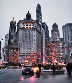 .Chicago Pin of the Day (12/7/2013): Michigan Avenue at bridge.