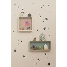 Shop for ferm LIVING Mini Stars Wall Sticker from Modern Karibou. Choose other household items from the largest online collection of ferm LIVING products in Canada. Wall Stickers, Wall Decals, Star Stickers, Sticker Mural, Nursery Decals, Deco Kids, Star Wall, Little Girl Rooms, Kids Decor