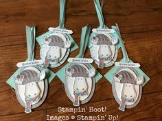 Jolly Friends Moose Tags